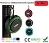 Bluetooth Shower Speaker Waterproof Portable Wireless, Suction Cup /Microphone / Control Buttons / Loud Sound w/ Bass Boost
