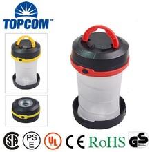 Dual-use Super Bright Portable LED Plastic Camping Lantern