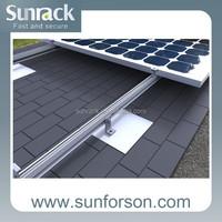 PV Solar Panel Aluminum Mounting Bracket for Home System