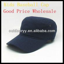 Barato llanura gorra de béisbol / sombrero de color caqui venta al por mayor y de la marina de guerra