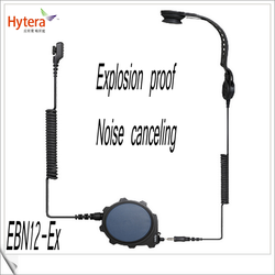 In-hamlet with PTT noise canceling headphone EBN12-Ex