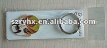Customrized zinc alloy keychina metal keychain hot selling