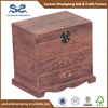 Hot sale antique style small wooden furniture makeup drawers with mirror