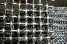 stainless steel wire crimped wire mesh,square hole sharpe made in china