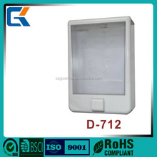 New product D-712 for hotel bathroom big capacity single head soap dispenser