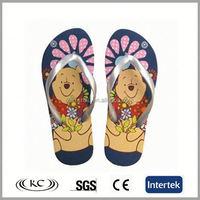 bulk wholesale good price eva cartoon baby flip flops