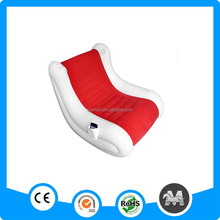 Available shaking pvc inflatable sofa chair