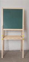 Hot sale wooden blackboards & white board for kids Folding Duplex
