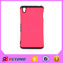 custom leather armor case mobile phone cover for sony xperia z3 mix color ,cover for mobile phone