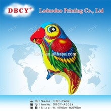 Dbcy loro pájaro en forma de baloon, no globos de látex