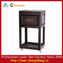 Refrigerador de vinho de madeira madeira bebida barril