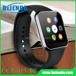 "Wearable 1.54"" Touch Screen GSM Watch Phone no camera,smart watch phone with heart rate monitor"