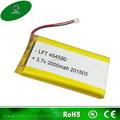 Ce y rohs aprobados de la batería de litio 3.7v 2000 mah