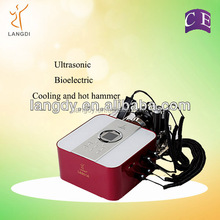 Protable ultrasound machine face galvanic ion beauty facial massager/skin rejuvenation and anti-aging device