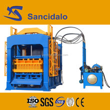 new product QT10-15 automatic block machinery