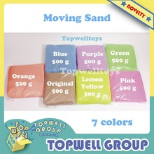 Educational Magic Sand Fun Toy for Kid(Sand only: 500g/pcs)