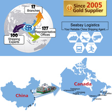 cheap freight forward sea shipping to montreal
