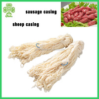 supply halal sausage casings, natural sheep casing salted