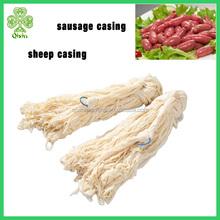supply halal sausage casings, natural sheep casing salted