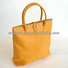 High quality pouches and bags leather bag with japanese-style management system
