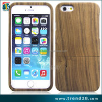 "New Genuine Natural Real Zebra Wood Wooden Hard Case Cover for iPhone 6 (4.7"")"