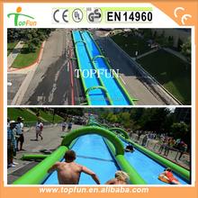 1000 ft Water Slip N Slide Inflatable Slide the City Inflatable City Slide PVC Tarpaulin