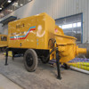 trailer concrete pump pumping concrete with advanced configuration and reasonable price China supplier