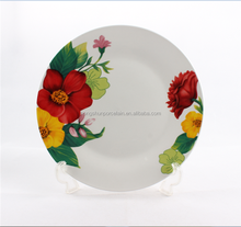 custom printed ceramic dinner plate , ceramic dishes plate , printing ceramic plates dishes