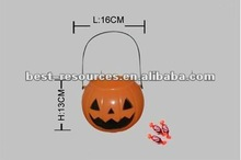 Plastic candy bucket halloween candy bucket candy bucket skull shape bucket pumpkin bucket