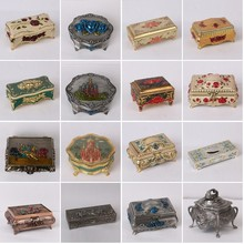 zinc alloy jewelry box : Classical European Home Furnishing ornaments