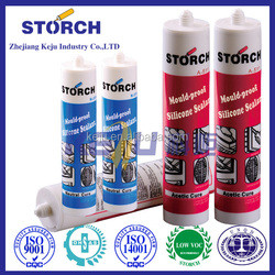 Acetic mould-proof silicone sealant, designed for waterproof sealing for all kinds of windows