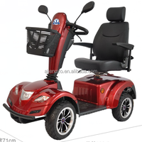 PG control three wheel handicapped scooter small light electric old scooter