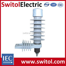 12KV 5KA Medium Voltage Distribution Net Polymeric ZnO Lighting Surge Arrestors