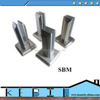 chinese manufacturing companies stainless steel glass balustrades spigots for railing