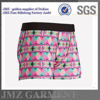 oem underwear and shorts men cotton printed underwear adult boy underwear shorts