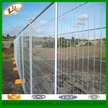 removable temporary welded mesh fence