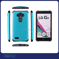 Wholesale checkout tpu pc stylish mobile phone back cover for LG G4