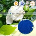 De haute qualité poudre de couleur bleu gardenia( e=30- 110)