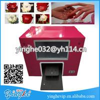 Touch Screen Nail Painting Machine portable flower printer machine