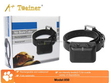 No Bark Control Dog Training Collar with Separate Intensity and Sensitivity Adjustments for All Dogs
