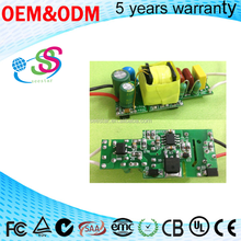 BIS LED Bulb Driver 7W 5W Isolated High PF constant current open frame internal driver