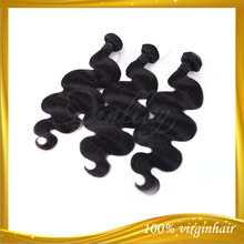 2013wholesale Qingdao Dingli hair products cheap brazilian body wave hair