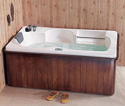 Chihnese monalisa portable acrylic hot massage bath tub for Best acrylic bathtub to buy