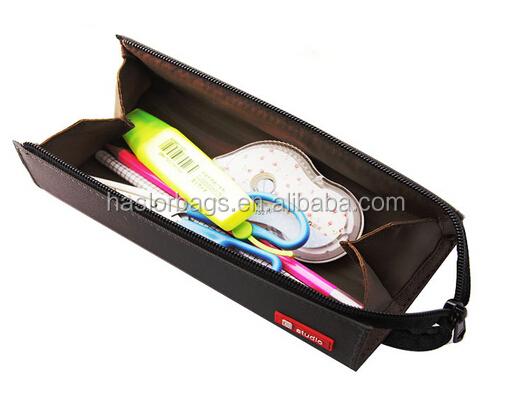 Bureau de rolling sac de crayon / toile adultes étui à crayons