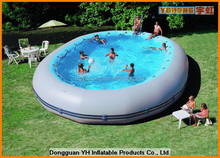 inflatable commercial movable swimming pool