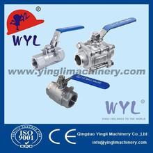 BSP lockable,SS316,handle,ball valves
