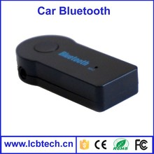 car audio /Bluetooth car kit connect aux with bluetooth 3.5mm audio mic adapter for car/home use