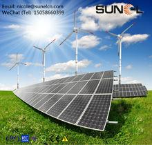 200 watt solar panels for wind solar hybrid power system