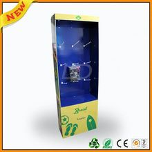 ,floor standing display unit for eletric wire ,floor standing advertising display for mobile acce