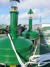 1800 diameter polyethylene light buoy